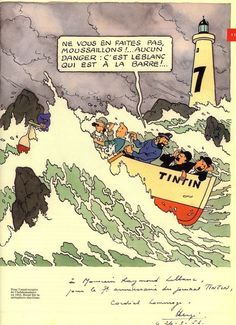 """Tintin et la mer"", Historia, HS p. Fox Terriers, Quick Et Flupke, Herge Tintin, Comic Art, Comic Books, Ligne Claire, Bd Comics, Line Illustration, Latest Books"