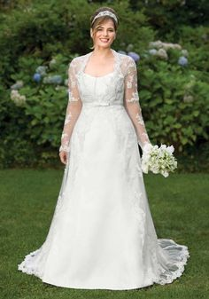 plus size wedding dresses with sleeves Get the Perfect Idea about Most Beautiful Plus Size Wedding Dress