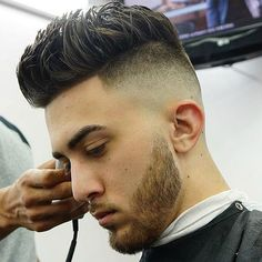 High Skin Fade with Spiked Hair