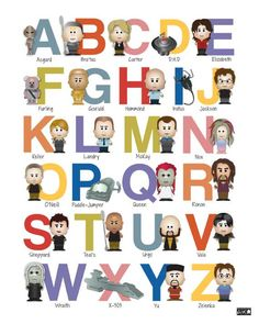 I will pretend to buy this for one of my many friends that is having a baby, but really, it's gonna be for me.  Sci-Fi Alphabet Nursery Art - A to Z - Choose One Letter 8x10 Inch Poster Print - Geek-a-bye Baby - Sci-Fi Geek - Completely Customizable. $12.00, via Etsy.