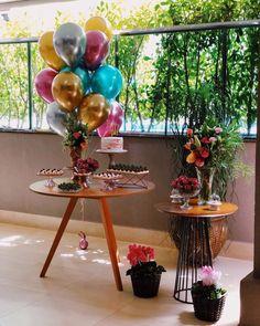 Birthday Girl Pictures, Birthday Photos, 18th Birthday Party, Birthday Celebration, Simple Birthday Decorations, Table Decorations, Decor Eventos, Event Decor, Amelia