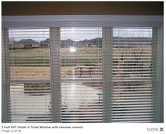 blinds on triple window