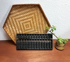 Vintage 1960s Japanese abacus by EarthshipVintage on Etsy