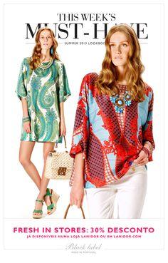 Numa loja Lanidor ou em www.lanidor.com. // In stores or at www.lanidor.com.