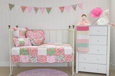Alice Cot Quilt Crib Bedding