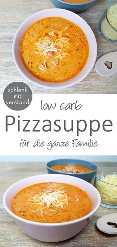 Pizza soup low carb # low carb recipes Pizza soup low carb A great low . - Pizza soup low carb # Low carb recipes Low carb pizza soup A great low carb dish for the whole fami - No Calorie Foods, Low Calorie Recipes, No Carb Diets, Diet Foods, Soup Recipes, Diet Recipes, Vegetarian Recipes, Healthy Recipes, Pizza Recipes