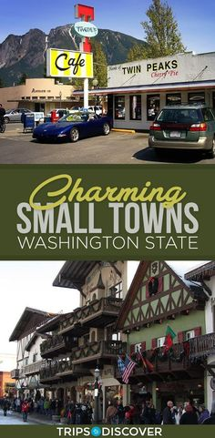 9 Most Charming Small Towns in Washington State. Places to visit in Washington. Spokane Washington, Western Washington, Moving To Washington State, Fort Lewis Washington, Langley Washington, Winthrop Washington, Blue Ridge Mountains, Places To Travel, Travel Destinations