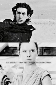 "Force bond, anyone? Daisy has hinted that she and Adam are going to be ""finding the Force"" in the upcoming films...yup, that's my guess. Force bond. It's happening. #Reylo"