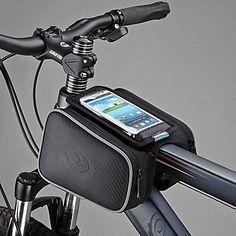 Roswheel bicyclette de vélo avant Top Tube Cadre Pannier Double Sac pour 5inch po portable de 2016 � $9.79👊