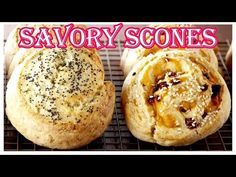 Savory Spiral Scones is on the menu in Chef Anna Olson's amazing kitchen, and she is going to teach you how to make this delicious recipe from scratch! Anna Olson, Savoury Biscuits, Savory Scones, Meat Recipes, Cooking Recipes, Fun Recipes, How To Make Scones, Tasty, Yummy Food