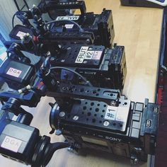 F55s cleaned and prepped for battle aka shootin tomorrow #dgaproductions #boston #filmcrew #makingof #cameradept #cameragear #cameraporn #productionlife #behindthescenes #behindthelens #sonypro #sonyf55 #f55 by dgaproductions