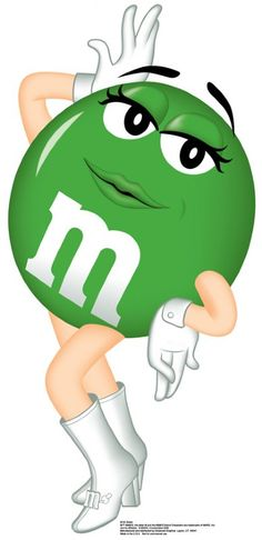 M& M characters | M & M's-Green         M's Green/ Strike a Pose