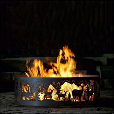 огонь костер камин в живописи - Поиск в Google