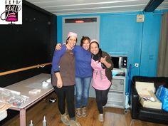 notre équioe de choc: Berna, Natalia & Marielly :)