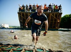 Fire pits, ice vats and electric shocks are just some of the 22 challenges in the Tough Mudder, a brutal military-style obstacle course that's becoming a global phenomenon. J Francis Reid heads into battle Military Fashion, Military Style, Tough Mudder, Obstacle Course, Extreme Sports, Rage, Battle, How To Become, Fitness Motivation
