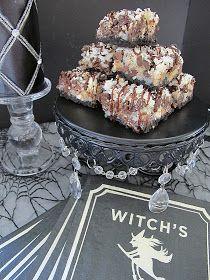 Purple Chocolat Home: Black Magic Bars