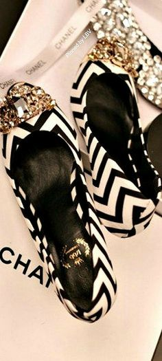 Chanel Inspired Chevron    LBV ♥✤