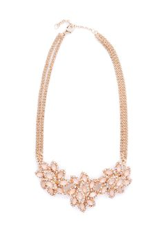Up and Downton Flower Necklace