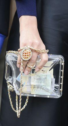 Chanel bag at Milan Fashion Week