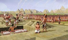 Sacrifice victims at Cahokia were locals not foreign captives. #archaeology
