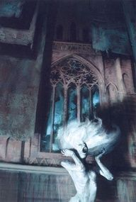 In legend, a banshee is a fairy woman who begins to wail if someone is about to die. Banshees were said to appear for particular Irish families, though which families made it onto this list varied depending on who was telling the story. Stories of banshees were also prevalent in the West Highlands of Scotland. In Welsh folklore, a similar creature is known as the Hag of the mist.