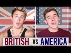 British vs America: How We Do It... Too funny!! They are both adorable.