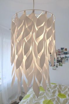 Amazing DIY paper craft ideasIf you have a firm grip on the artwork, you can visualize your creativity in the form of a DIY paper lamp. In this project, you can capture the DIY paper Homemade Lamp Shades, Homemade Lamps, Floor Lamp Shades, Ceiling Lamp Shades, Floor Lamps, Ceiling Lamps, Paper Lampshade, Lampshades, Lampshade Ideas
