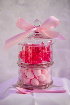 Wedding Candy Bar Pink Rose - CHARMEWEDD