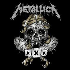 Metallica - Anniversary Show's in the Fillmor by soulnex on DeviantArt Metallica Tattoo, Kirk Metallica, Metallica Music, Metallica Metallica, Music Artwork, Metal Artwork, Hard Rock, Bob Rock, Grunge