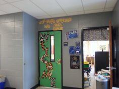 My classroom door for second grade.