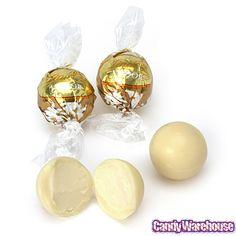 Lindt Chocolate Lindor Truffles - White Chocolate: 60-Piece Box