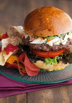 California Roll Burger #Recipe. Sounds really interesting!
