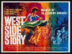 West Side Story quad movie poster