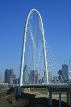 Margaret Hunt Hill Bridge, Dallas, TX: Santiago Calatrava