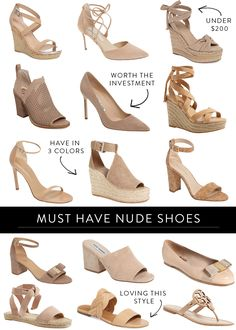nude shoes roundup for spring