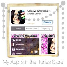 The Creative Creations App is available for iPad / iPhone in the Apple iTunes App Store now ... yay! ... you can get it for free here: https://itunes.apple.com/WebObjects/MZStore.woa/wa/viewSoftware?id=797075036&mt=8