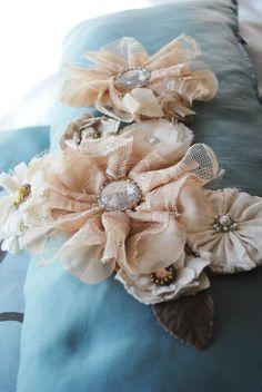 my diy sash & diy flower girl headband    PHOTOGRAPHY BY Woven Bone Photography wedding photography, bride, diy, flower girl headband, bride sash, yellow dresses, rustic wedding, yellow wedding, chevron wedding, real weddings, country wedding, missouri wedding