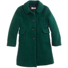 J.Crew Girls' Maan desir tweed coat