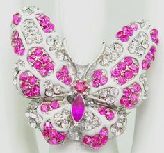 Pink Butterfly by victoriascharms on Etsy