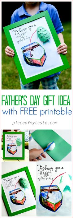 Father's day gift idea with free printable