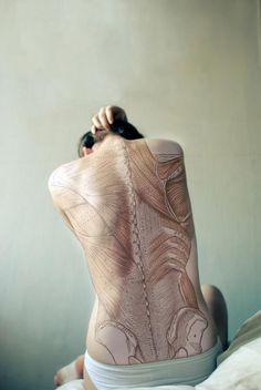 Gorgeous!!!! // Diana Eastman - Anatomy Back