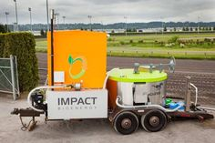 This HORSE converts food waste into fertilizer and energy
