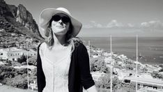 Anna, looking like a movie star on Capri Positano, Movie Stars, Capri, Raincoat, Anna, Movies, 2016 Movies, Films, Film
