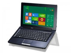 Sleek new 32GB Windows 8 Hybrid Tablet Laptop:  @ http://www.timewastersonline.com/?p=17850