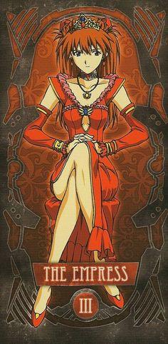 Tarot: Asuka (La Emperatriz)