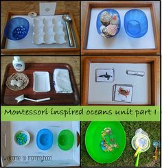 Oceans Unit Part I: Montessori activities for Toddlers by Welcome to Mommyhood