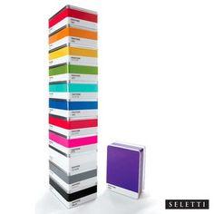 Seletti Pantone 10 Cool Grey Metal Storage Box: Image 1