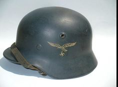 WW II German helmet