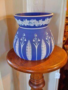 Gorgeous Wedgewood Blue Vase