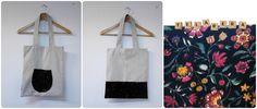 bolsa de tela handmade telarera